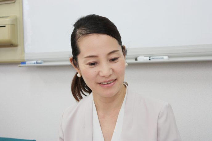 山田さんの顔